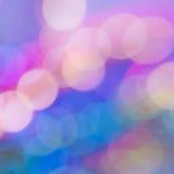 Fondo abstracto colorido con los círculos de la luz Fotografía de archivo libre de regalías