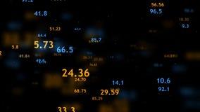 Fondo abstracto colorido Fondo de la tormenta de los datos libre illustration