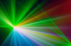 Fondo abstracto colorido de Laserlight con el espacio para el texto o Foto de archivo