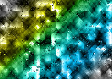 Fondo abstracto colorido de los polígonos Imágenes de archivo libres de regalías