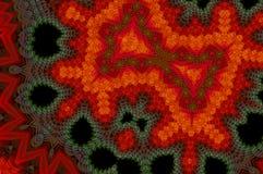 Fondo abstracto colorido del fractal Foto de archivo