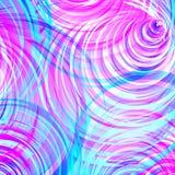 Fondo abstracto colorido del vórtice Fotografía de archivo