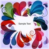 Fondo abstracto colorido eps10 Foto de archivo libre de regalías