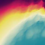 Fondo abstracto colorido Modelo del diseño Modelo moderno Ilustración del vector para su agua dulce de design Fotografía de archivo libre de regalías