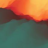 Fondo abstracto colorido Modelo del diseño Modelo moderno Ilustración del vector para su agua dulce de design Imagenes de archivo