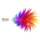 Fondo abstracto colorido Vector Imagen de archivo