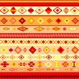 Fondo abstracto con adornos étnicos Foto de archivo