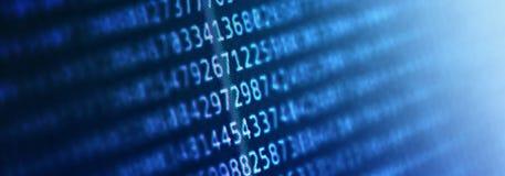 Fondo abstracto con código de ordenador del programa imagen de archivo