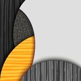 Fondo abstracto con capas modeladas Fotos de archivo