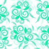 Fondo abstracto con diseño floral libre illustration