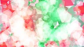 Fondo abstracto con diversos pentágonos multicolores Grande y pequeño ilustración del vector