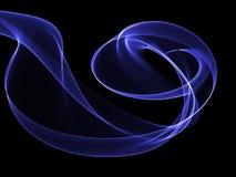 Fondo abstracto con efecto del humo que fluye libre illustration