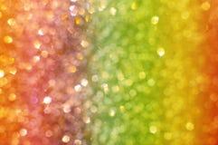 Fondo abstracto con el bokeh del arco iris Imagen de archivo
