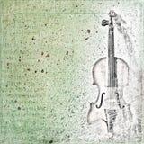Fondo abstracto con el bosquejo Imagen de archivo libre de regalías