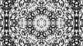 Fondo abstracto con el caleidoscopio de plata Foto de archivo
