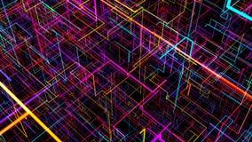 Fondo abstracto con el circuito Ejemplo de Digitaces libre illustration