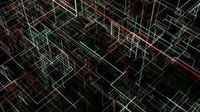 Fondo abstracto con el circuito Ejemplo de Digitaces stock de ilustración