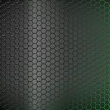 Fondo abstracto con el contraluz verde Foto de archivo