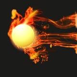 Fondo abstracto con el fuego Foto de archivo libre de regalías