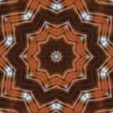 Fondo abstracto con el modelo del fractal Diseño de la impresión para la decoración superficial ejemplo para el tema de la medita libre illustration