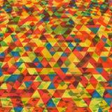 Fondo abstracto con el modelo triangular Fotografía de archivo