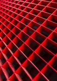 Fondo abstracto con el techo celular del metal Fotografía de archivo