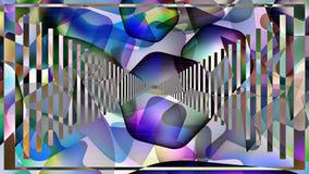 Fondo abstracto con el uso de todos los colores del r libre illustration