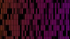 Fondo abstracto con la animación de las partículas del parpadeo foto de archivo