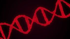 Fondo abstracto con la DNA Fotos de archivo