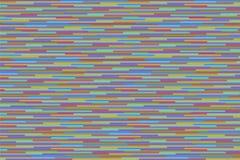 Fondo abstracto con la raya colorida horizontal Fotografía de archivo libre de regalías