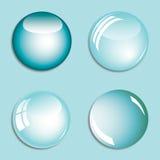 Fondo abstracto con las burbujas Imágenes de archivo libres de regalías