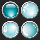 Fondo abstracto con las burbujas Imagen de archivo libre de regalías