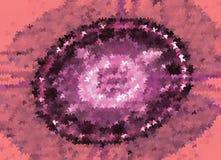 Fondo abstracto con las estrellas Clip art del vector Imagenes de archivo