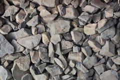 Fondo abstracto con las piedras reeble agudas secas foto de archivo libre de regalías