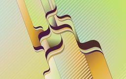 Fondo abstracto con las rayas Foto de archivo libre de regalías