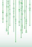 Fondo abstracto con las rayas de la ejecución de las líneas, puntos libre illustration