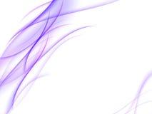 Fondo abstracto con las rayas púrpuras Imagen de archivo libre de regalías