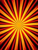 Fondo abstracto con las vigas rojas y amarillas ilustración del vector