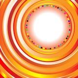 Fondo abstracto con los círculos Imagen de archivo libre de regalías