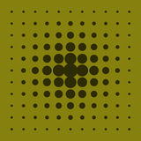 Fondo abstracto con los círculos de diverso tamaño Imagenes de archivo