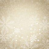 Fondo abstracto con los copos de nieve 1 Foto de archivo libre de regalías