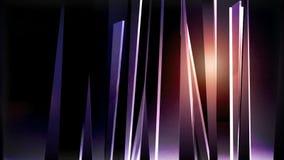 Fondo abstracto con los cristales coloridos ilustración del vector