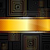 Fondo abstracto con los cuadrados stock de ilustración