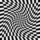 Fondo abstracto con los cuadrados blancos y negros trama stock de ilustración