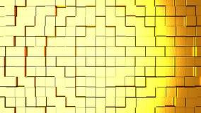 Fondo abstracto con los cubos Fotos de archivo libres de regalías