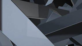 Fondo abstracto con los elementos caóticos representación 3d libre illustration