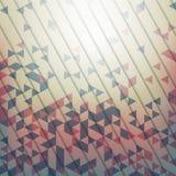 Fondo abstracto con los elementos geométricos del triang Imagen de archivo