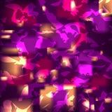Fondo abstracto con los flashes y la textura brillantes del papel arrugado, vector, eps10 Fotos de archivo libres de regalías