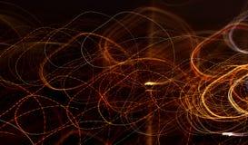 Fondo abstracto con los modelos de la luz fotos de archivo