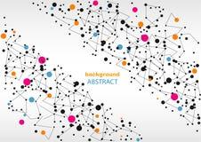 Fondo abstracto con los modelos geométricos, para la página web y el diseño Imagenes de archivo